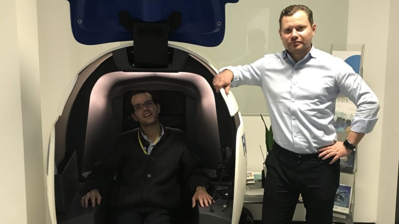 Alexey Katukhov, Geschäftsführer (rechts), und Adriano Cicioni, Verwaltung (links) ©Garnet