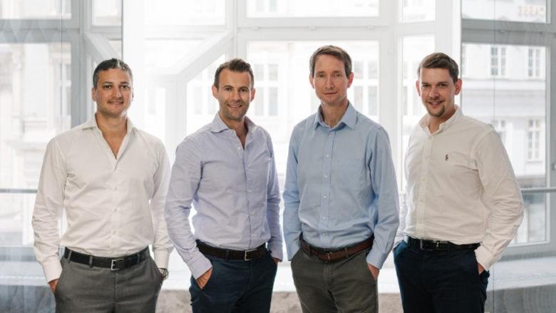 Christoph Kanneberger, Gordon Euller, Andreas Riegler und Stefan Haubner von Apex. © Interfoto