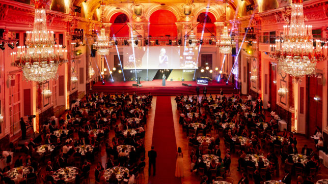 EY Entrepreneur Of The Year Gala 2019 in der Hofburg. © EY