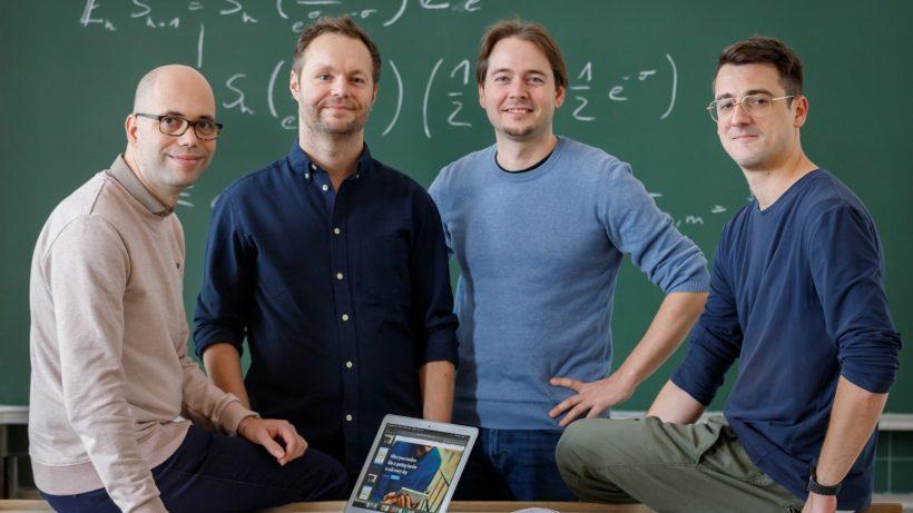 Von links nach rechts: Klemens Senn, Markus Puckmayr, Philipp Wissgott, Klemens Schreiber. ©Elia Zilberberg/danube.ai