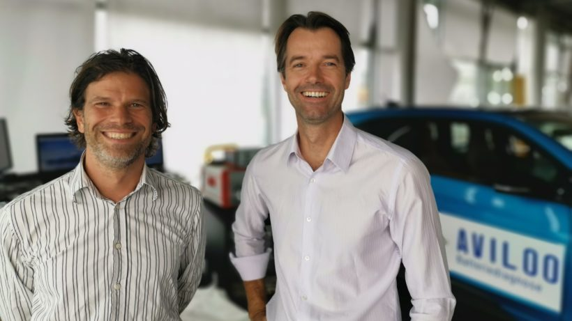 Die beiden Gründer Nikolaus Mayerhofer (l.) und Wolfgang Berger. © Aviloo