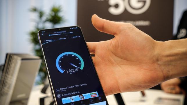 5G bringt deutlich höhere Downloadraten. ©Trending Topics