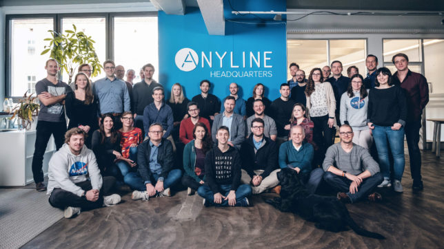 Das Anyline-Team. © Anyline