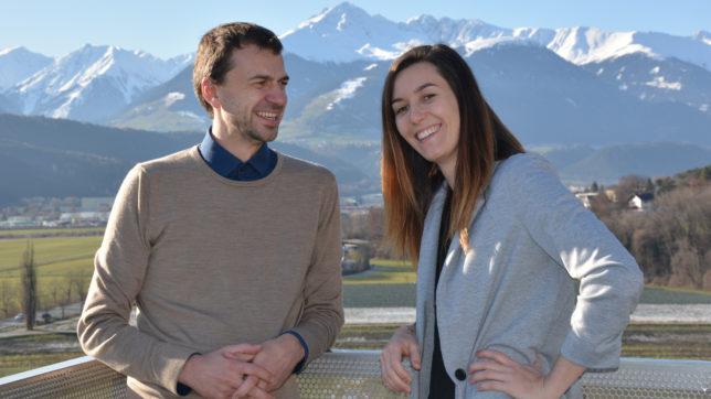 Wolfgang Lechner und Magdalena Hauser von ParityQC. © ParityQC