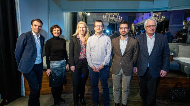 "Panel bei ""GIN& AI"" des ICT Austria. © Mario Baumgartner"