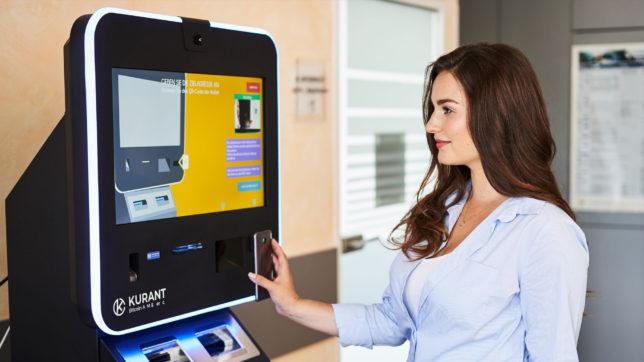 Bitcoin-Automat von Kurant.at. © Kurant.at