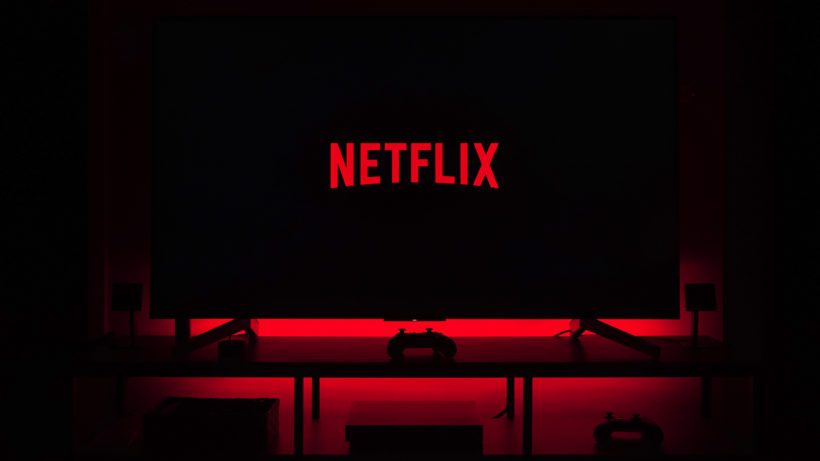 Netflix in Rot. © Unsplash