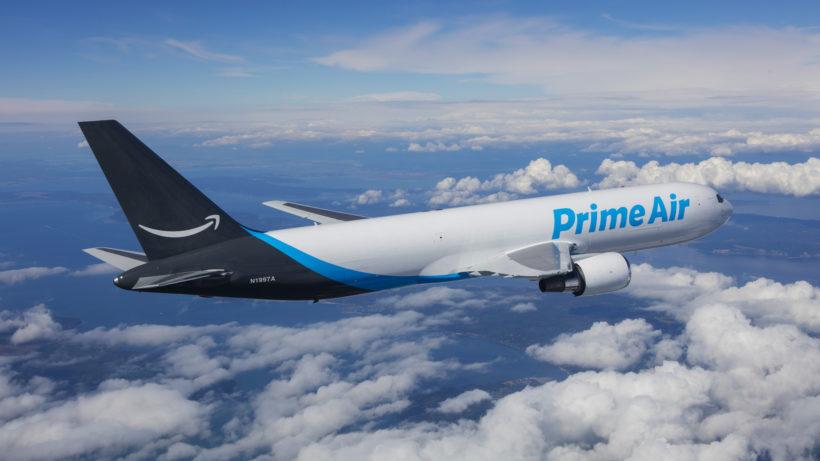 Prime-Logistik-Flugzeug im Dienste von Amazon. © Amazon