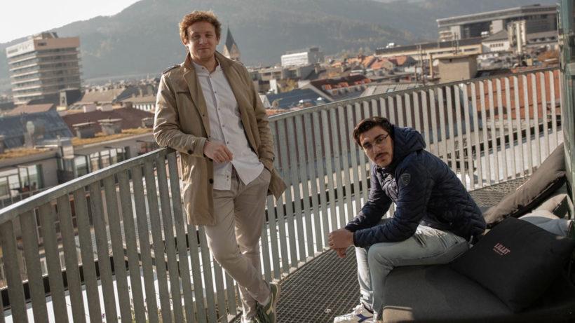 Die RateBoard-Gründer Simon Falkensteiner und Matthias Trenkwalder. © fotovm.at