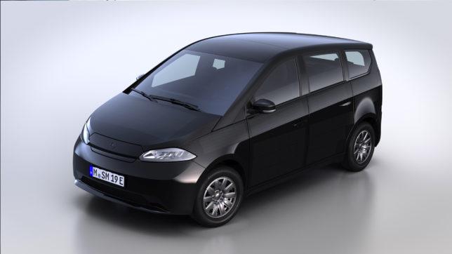 Der geplante Sion von Sono Motors. © Sono Motors