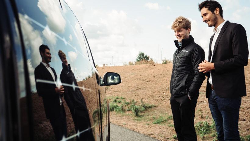 Jona Christians und Laurin Hahn, die Gründer von Sono Motors. © Sono Motors.