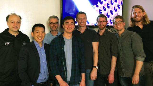 Das Team von Swift Solar rund um Max Hörantner (Zweiter von rechts). © Swift Solar