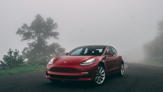 Tesla Model 3. © Photo by Vlad Tchompalov on Unsplash