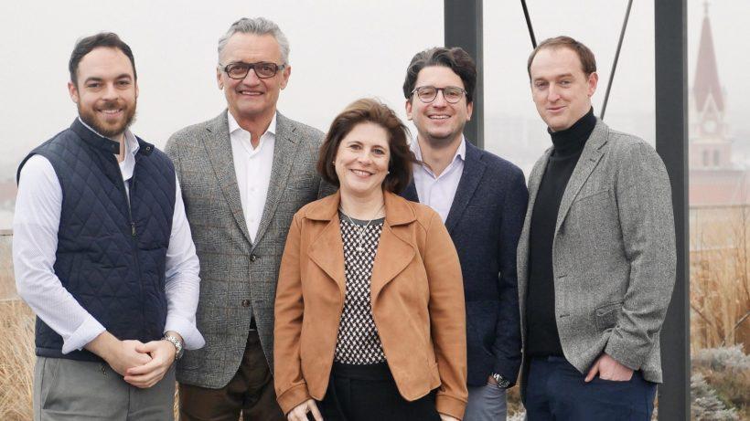 v.l.n.r.: Stefan Strohmer, Walter Schachermayer, Doris Agneter, Patrick Schubert und Stefan Köppl ©Orderlion