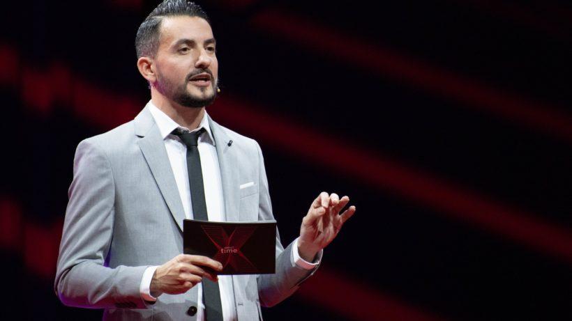 Vlad Gozman ist neben involve.me auch Initiator der TEDx. © Fruzsina Jelen / TEDxVienna