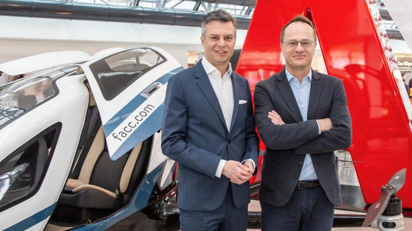 Thomas Arnoldner, Thomas Arnoldner, CEO der A1 Telekom Austria Group, und Markus Hengstschläger, stellvertretender Vorsitzender des Rates für Forschung und Technologieentwicklung. © A1