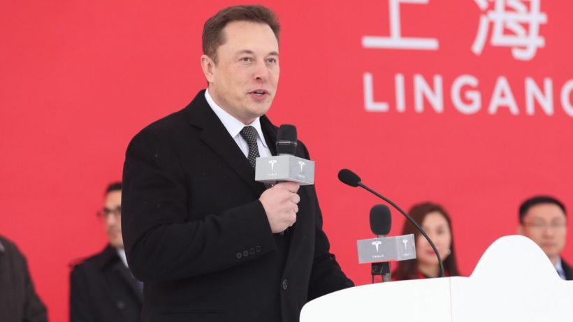 Elon Musk in China. © Tesla Motors