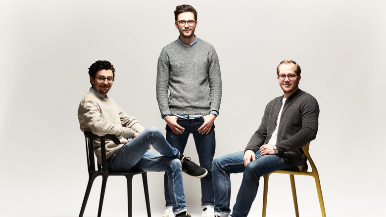 Marco Gariboldi, Daniel Andreoli und Korbinian Gerstl von Frank Juice. © Frank Juice