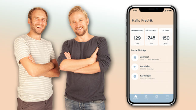 Fredrik Debong und Sebastian Gruber von hi.health. © hi.health / Monatge Trending Topics