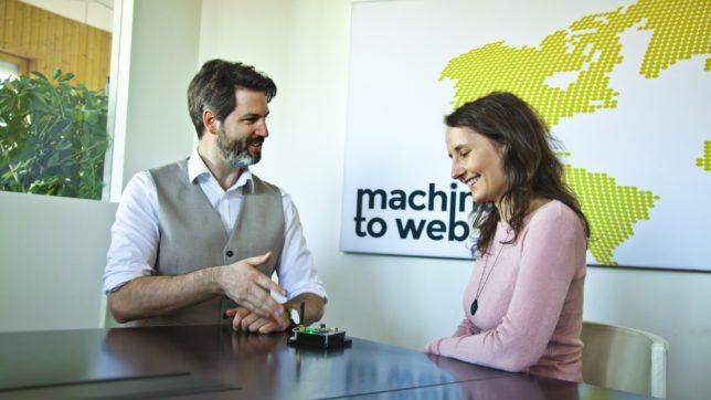 CFO Stefan Pfeffer und Marketing Manager Sabrina Waldbauer von Microtronics. ©Microtronics