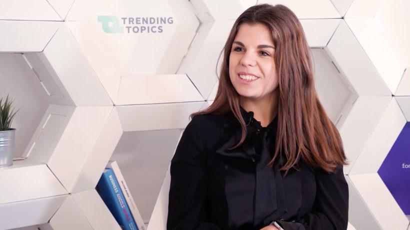 Laura Egg, Geschäftsführerin der aaia. © Trending Topics