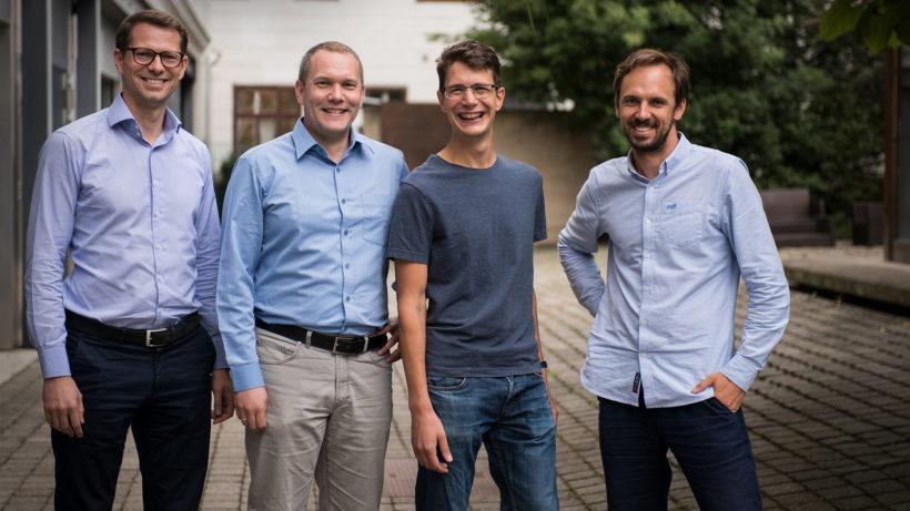 Das Gründer-Team von Mostly AI. © Mostly AI