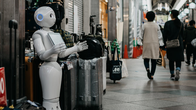 Roboter Pepper im Shopping-Center. © Photo by Lukas on Unsplash