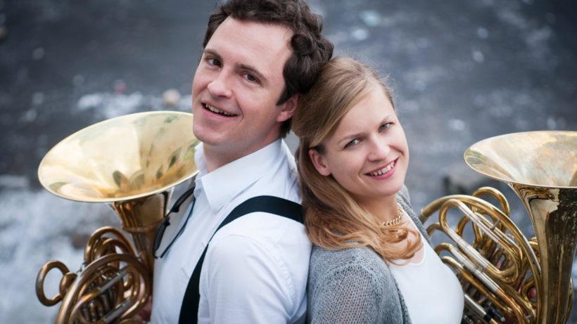 Zita Martus und Robert Denk von Soundhorn. © Soundhorn