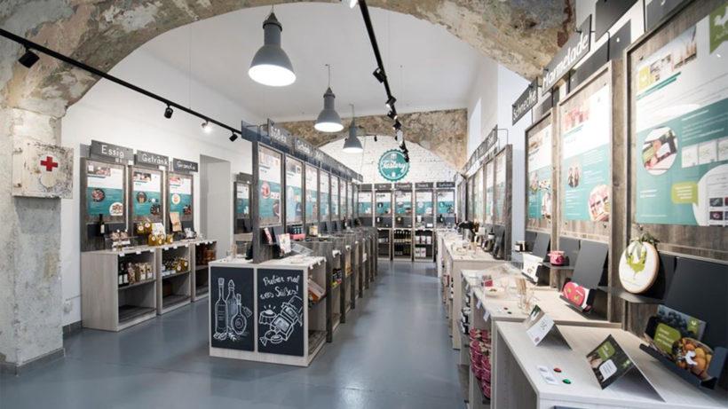Die Verkostungs-Terminals in der Wiener Tastery © Tastery
