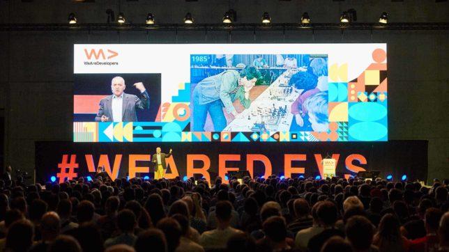WeAreDevelopers-Konferenz in Berlin 2019. © WeAreDevelopers GmbH