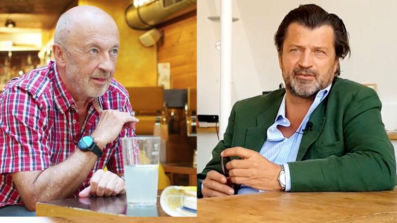 Die Business Angels Hansi Hansmann und Martin Rohla. © Trending Topics