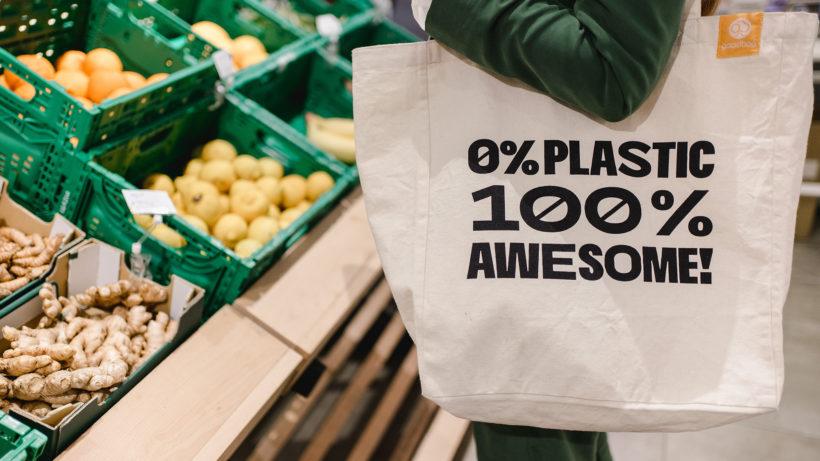 Die goodbag ist eine smarte Bio-Stofftasche © goodbag