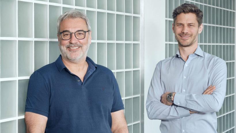 erhard Feilmayr und Dominik Flener haben Igevia gegründet. © Igevia