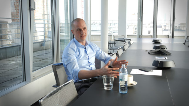 Christian Rau, General Manager Mastercard Austria. © Trending Topics