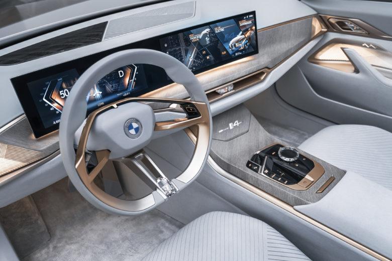 BMW i4 Concept. © BMW