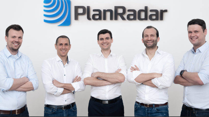 Das PlanRadar-Kernteam. © PlanRadar