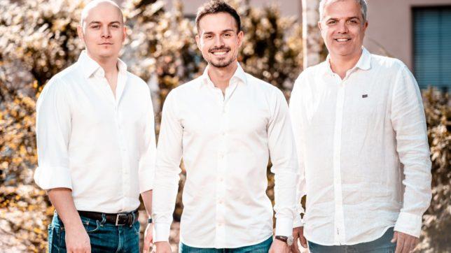 Zoltán Tarabo, Lukas Seper und Tamás Petrovics, die Gründer von XUND © XUND