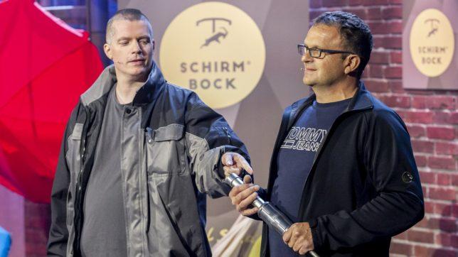 Die beiden Erfinder von Schirmbock. © Gerry Franke / Puls 4