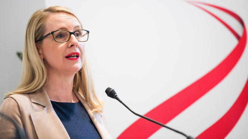 Wirtschaftsministerin Margarete Schramböck (ÖVP). © BMDW