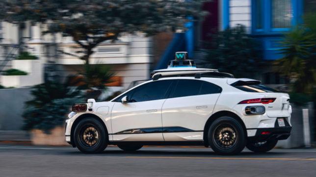 Jaguar I-PACE mit Waymo-Technologie. © Waymo
