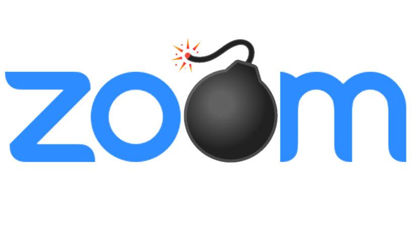 In Zoom-Calls können böse Überraschungen lauern. © Logo Zoom, Montage Trending Topics