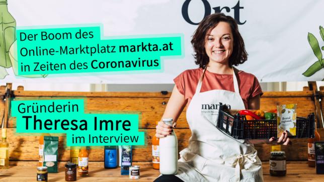 Theresa Imre von markta.at. © markta.at, Montage Trending Topics