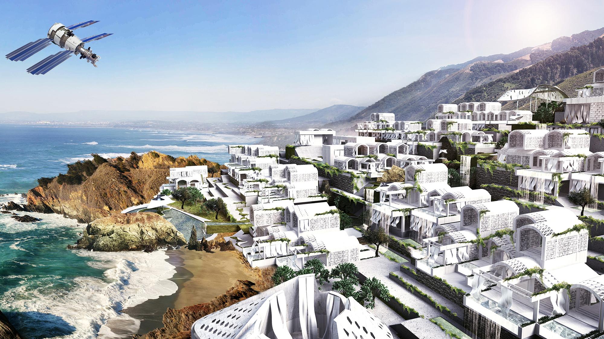 So soll das Atmos Selfness Resort aussehen © ATMOS/Coop Himmelb(l)au