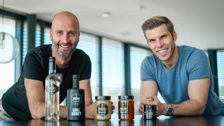 Imker Florian Peterstorfer und Investor Florian Gschwandtner © Die Imkerei