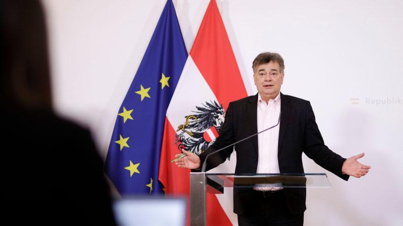 Vizekanzler Werner Kogler (Grüne). © BKA/Andy Wenzel