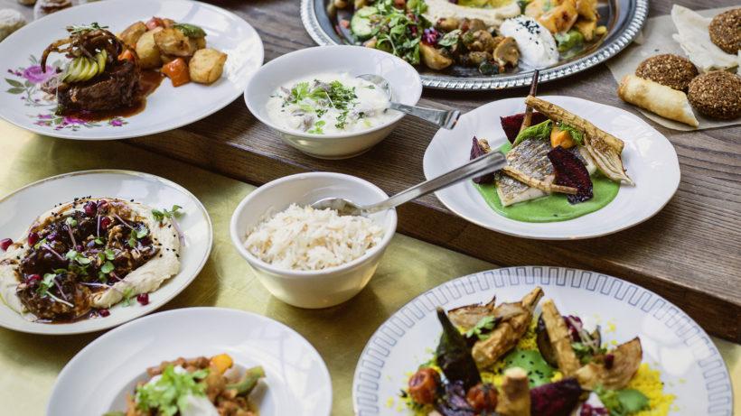 """Essen im """"Habibi & Hawara"""" © Markus Thums/Habibi & Hawara"""