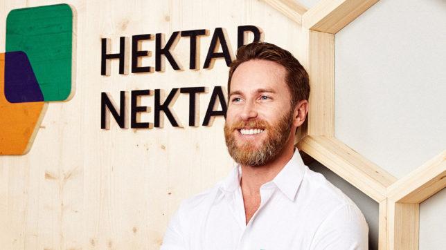 Martin Poreda hat mit seinem Bruder Mark kununu und dann Hektar Nektar gegründet © Hektar Nektar