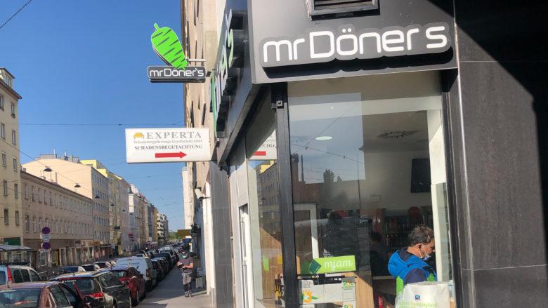 Mr. Döner's in 1020 Wien. © Trending Topics