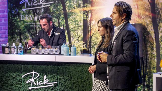 Rick Gin im Pitch bei 2 Minuten 2 Millionen © Puls4/Gerry Frank