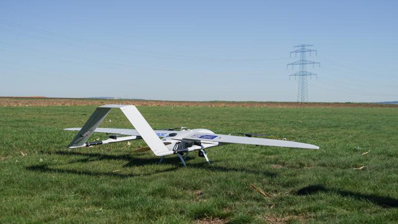 Startbereit: Drohne von Smart Digital. © Smart Digital
